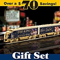 Elvis King Of Rock 'N' Roll Express Train Set