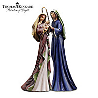 Thomas Kinkade Blessed And Holy Night Nativity Set