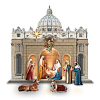 St. Peter's Square Nativity Set