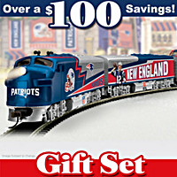 New England Patriots Express Train Set