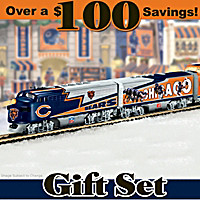 Chicago Bears Express Train Set
