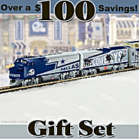 Dallas Cowboys Express Train Set