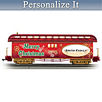 2015 Personalized Holiday Train Car