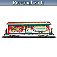 2016 Personalized Holiday Train Car