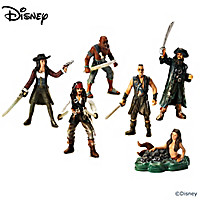 Pirates Of The Caribbean Revenge Figurine Set