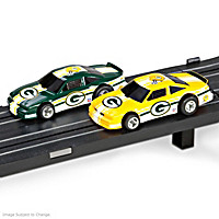 Green Bay Packers Slot Car Set