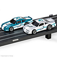Philadelphia Eagles Slot Car Set