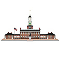 Independence Hall Sculpture