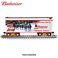 Budweiser Grab Some Buds Personalized Train Car