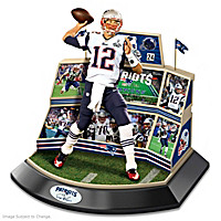 Tom Brady Super Bowl XLIX Signature Moments Sculpture