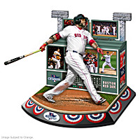 Boston Red Sox 2013 World Series Signature Moment Sculpture