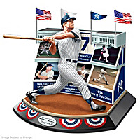 Legends Of The Game Featuring Mickey Mantle Sculpture