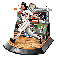 Hall Of Fame Legends Featuring Cal Ripken, Jr. Sculpture
