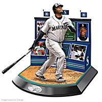 Hall Of Fame Legends Featuring Ken Griffey, Jr. Sculpture