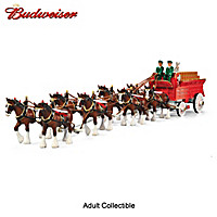 Budweiser Clydesdales Grand Masterpiece Sculpture