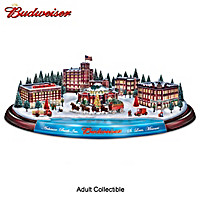 Budweiser Brewery Holiday Sculpture