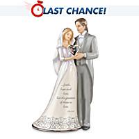 I Do Bride And Groom Figurine