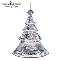 2015 Edition Thomas Kinkade Crystal Holiday Ornament