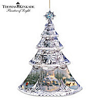 Thomas Kinkade The Light Of Christmas Ornament