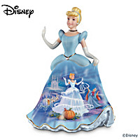 Cinderella Porcelain Bell