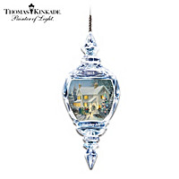 Thomas Kinkade Holiday Joy Ornament