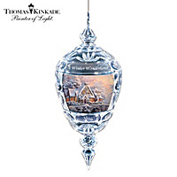 Thomas Kinkade's A Winter Wonderland Ornament