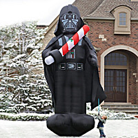 The 16-Foot Inflatable Christmas Darth Vader