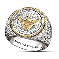 Barber Silver Coin Ring