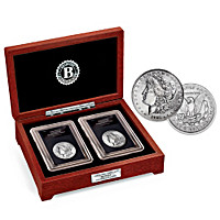 The First And Last Morgan Silver Dollars Coin Set