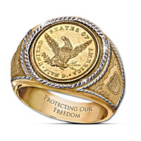 The 1839 $5 Eagle Proof Ring