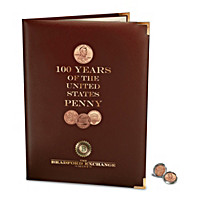 100 Years Of Lincoln Pennies Coin Set