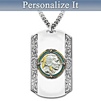 Spirit Of The West Personalized Pendant Necklace