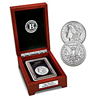 The 1900 Double Mint-Mark Morgan Silver Dollar Coin