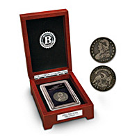 The Capped Bust Silver Half Dollar Coin