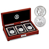 Complete Last Year Of Issue Morgan Silver Dollar Coin Set