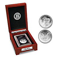 Rise Of The South Morgan Silver Dollar Coin