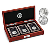 The Complete Last Peace Silver Dollar Coin Set