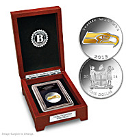 The First-Ever Seattle Seahawks Silver Dollar Coin