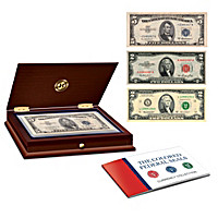 The Colored Federal Seals Currency Set
