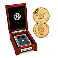 Canada Hummingbird 1/2 Gram Gold Proof Coin