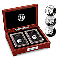 The 1964 & 2014 Kennedy Proof 50 Year Anniversary Coin Set