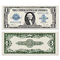 The Largest U.S. Note - 1923 $1 Silver Certificate Currency