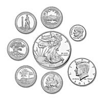The 2013 U.S. Silver Proof Limited Edition Coin Set