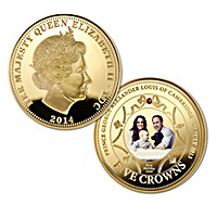 The New Royal Prince Gold Five Crown Coin