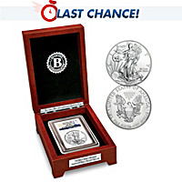 Early Release 2015 American Eagle Silver Dollar Coin
