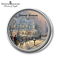 The All-New Thomas Kinkade Legal Tender Christmas Coin