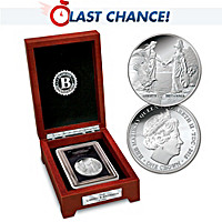 The First-Ever Liberty And Britannia Silver Crown Coin