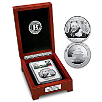 The Early Release 2015 Panda Silver Coin