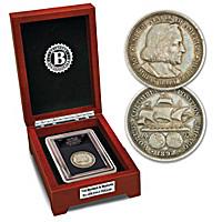 The Secret Barber & Morgan Silver Half Dollar Coin