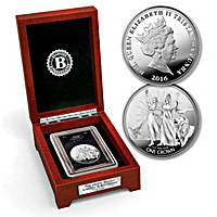 The 2016 Liberty And Britannia Silver Crown Coin
